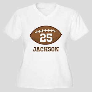 372e55eac0 Football Women's Plus Size T-Shirts - CafePress