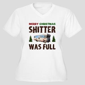 e06ec2f38 Christmas Vacation Shitter Was Full Women's Plus Size T-Shirts ...