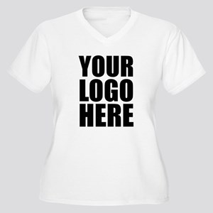 Your Logo Here Personalize It! Plus Size T-Shirt
