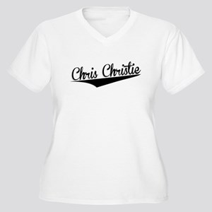 Chris Christie, Retro, Plus Size T-Shirt