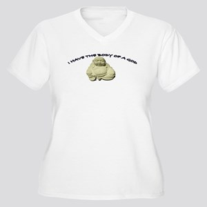 ccccd919e0 Buddha Belly Women's Plus Size T-Shirts - CafePress