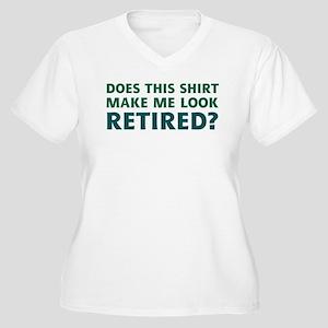 1aafd9e0 Funny Retirement Women's Plus Size T-Shirts - CafePress