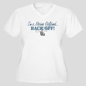 87c3d059 Proud Marine Girlfriend Women's Plus Size T-Shirts - CafePress