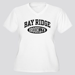 bbabe4ce5 Bay Ridge Brooklyn Women's Plus Size V-Neck T-Shir
