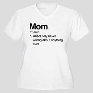 Mom Women's Plus Size T-Shirts - CafePress