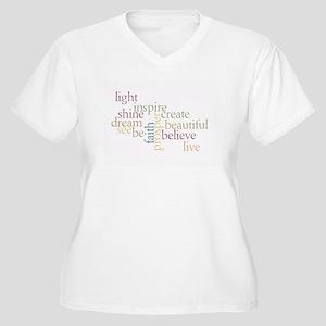 99c96c447e91 Kindness Matters Women's Plus Size V-Neck T-Shirt