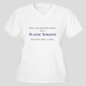 c88cdc71 Plastic Surgeon Women's Plus Size V-Neck T-Shirt