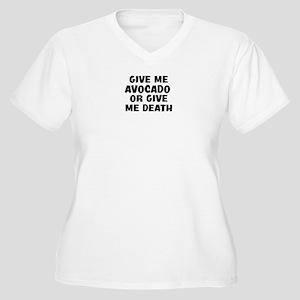 8e66af122c358 Funny Avocado Design Women's Plus Size T-Shirts - CafePress
