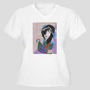 e0a37888 Manga Anime Drawing Watercolor Color Pencils Girl Women's Plus Size ...