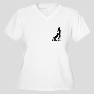 9a3e9c59e Sexy Silhouette Women's Plus Size T-Shirts - CafePress