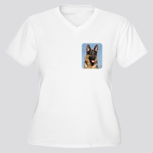 German Shepherd Dog 9Y554D-150 Women's Plus Size V