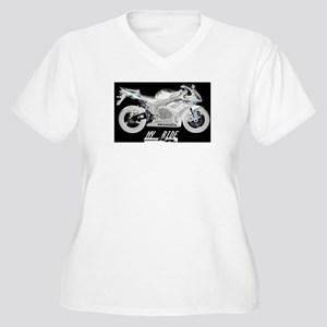 Cbr 1000RR Women's Plus Size V-Neck T-Shirt
