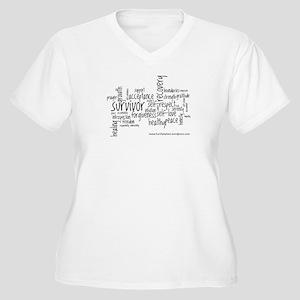 hurthelpheal Plus Size T-Shirt
