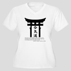 Torii 1 Women's Plus Size V-Neck T-Shirt