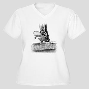 Drop in design Plus Size T-Shirt