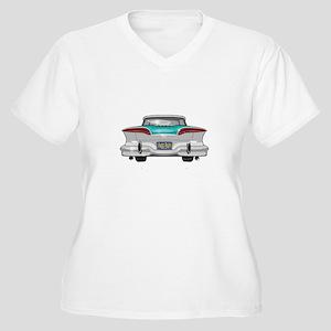 1958 Edsel Women's Plus Size V-Neck T-Shirt
