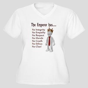 The Emperor has no... Plus Size T-Shirt