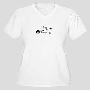 I Dig Archaeology Plus Size T-Shirt