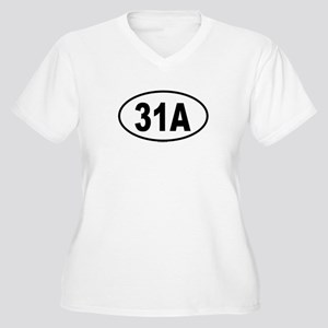 31A Womes Plus-Size V-Neck T-Shirt