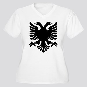 Shqipe - Double Headed Griffin Plus Size T-Shirt