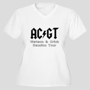 AC GT Crick Watso Women's Plus Size V-Neck T-Shirt