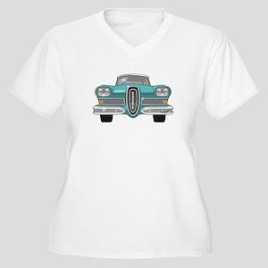 1958 Ford Edsel Women's Plus Size V-Neck T-Shirt