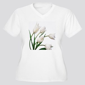 Tulip Women's Plus Size V-Neck T-Shirt