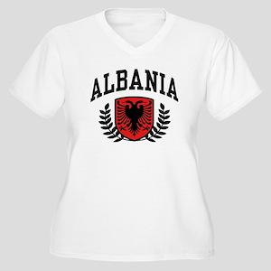 Albania Women's Plus Size V-Neck T-Shirt