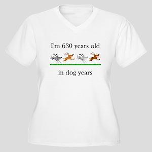 90 birthday dog years 1 Plus Size T-Shirt