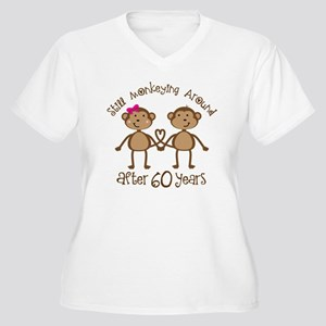 Funny 60th Anniversary Gift Plus Size T-Shirt