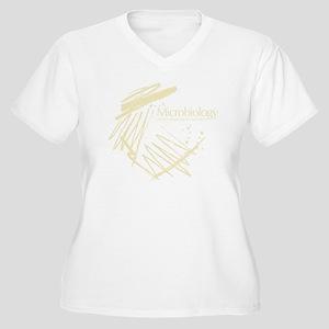 Microbiology Women's Plus Size V-Neck T-Shirt