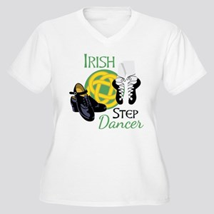 IRISH STEP Dancer Plus Size T-Shirt