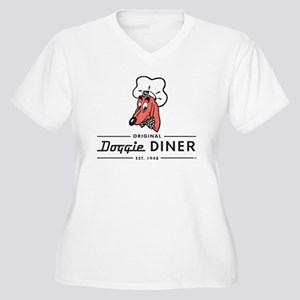 Doggie Diner restaurant logo Plus Size T-Shirt