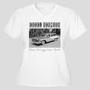 Edsel Bermuda, the Original SUV Plus Size T-Shirt