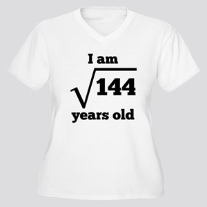12th Birthday Square Root Plus Size T-Shirt