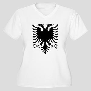 Albanian Eagle Plus Size T-Shirt