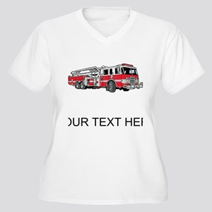 Fire Truck (Custom) Plus Size T-Shirt
