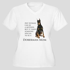 Doberman Mom Plus Size T-Shirt