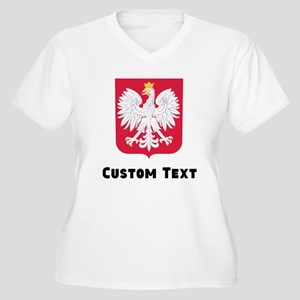 Poland Coat Of Arms Plus Size T-Shirt
