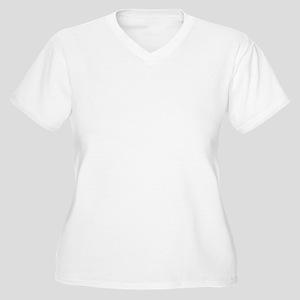 Greyhound Necessi Women's Plus Size V-Neck T-Shirt