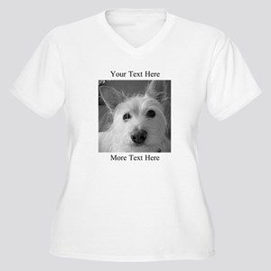 Your Text and Your Photo Here Plus Size T-Shirt