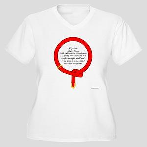 Squire Women's Plus Size V-Neck T-Shirt