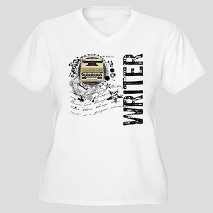 Writer Alchemy Women's Plus Size V-Neck T-Shirt