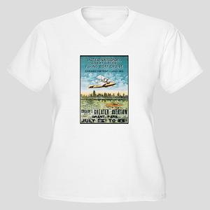 Aircraft Women's Plus Size V-Neck T-Shirt