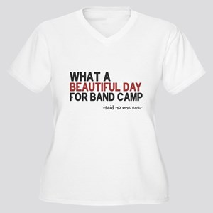 Band Camp Women's Plus Size V-Neck T-Shirt
