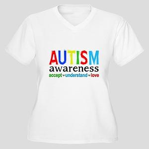 AutismAwareness Plus Size T-Shirt