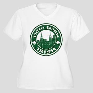 New York Irish American Plus Size T-Shirt