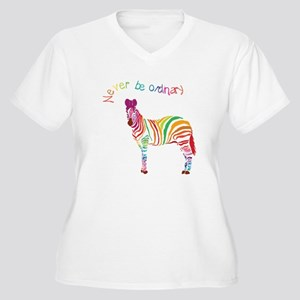 Never Be Ordinary Plus Size T-Shirt