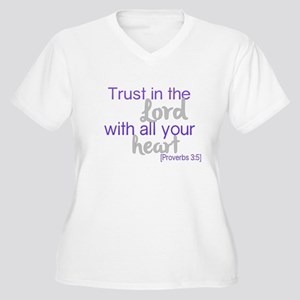 Trust in the Lord Plus Size T-Shirt