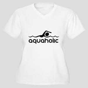 Aquaholic Plus Size T-Shirt